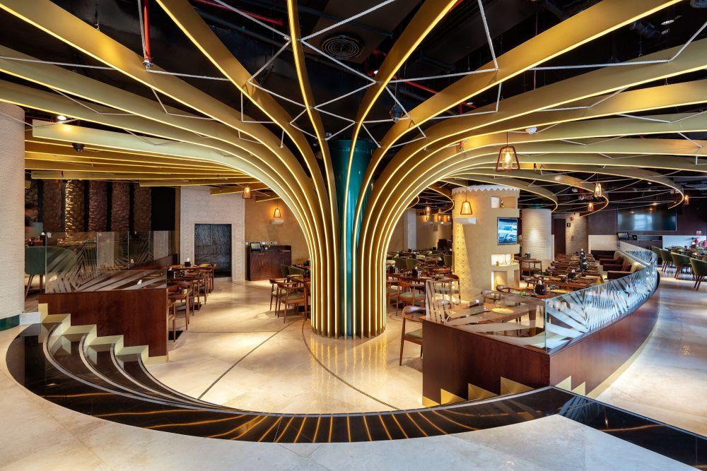 Karamna Al Khaleej Restaurants Parla Design Interior Design Dubai Restaurant Interior Design Cafe Design
