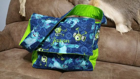 Monsters Inc Diaperbag Custom Diaper Bag By Shays