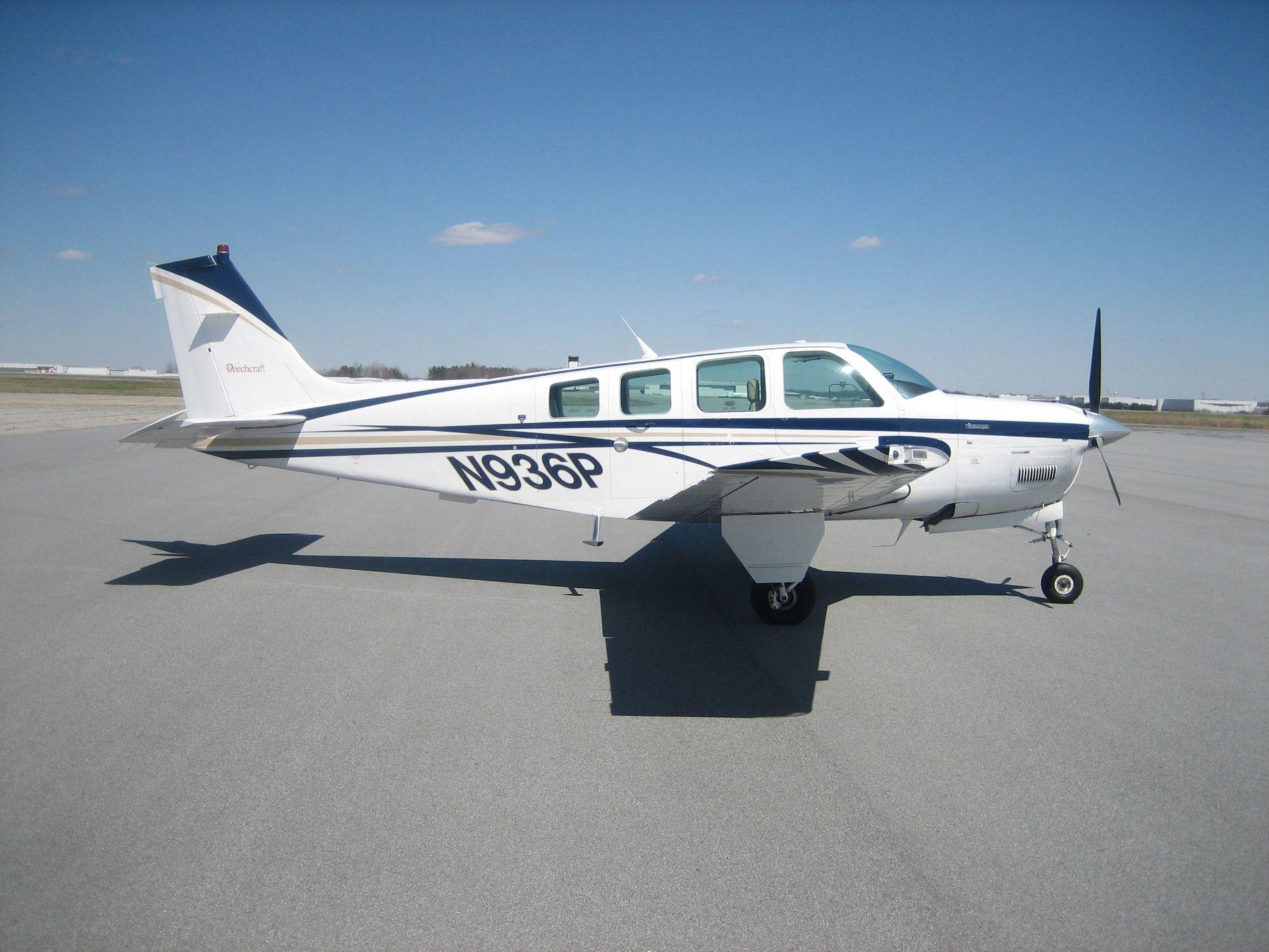 1985 Beechcraft Bonanza A36 for sale in NC United States => http://www.airplanemart.com/aircraft-for-sale/Single-Engine-Piston/1985-Beechcraft-Bonanza-A36/10440/