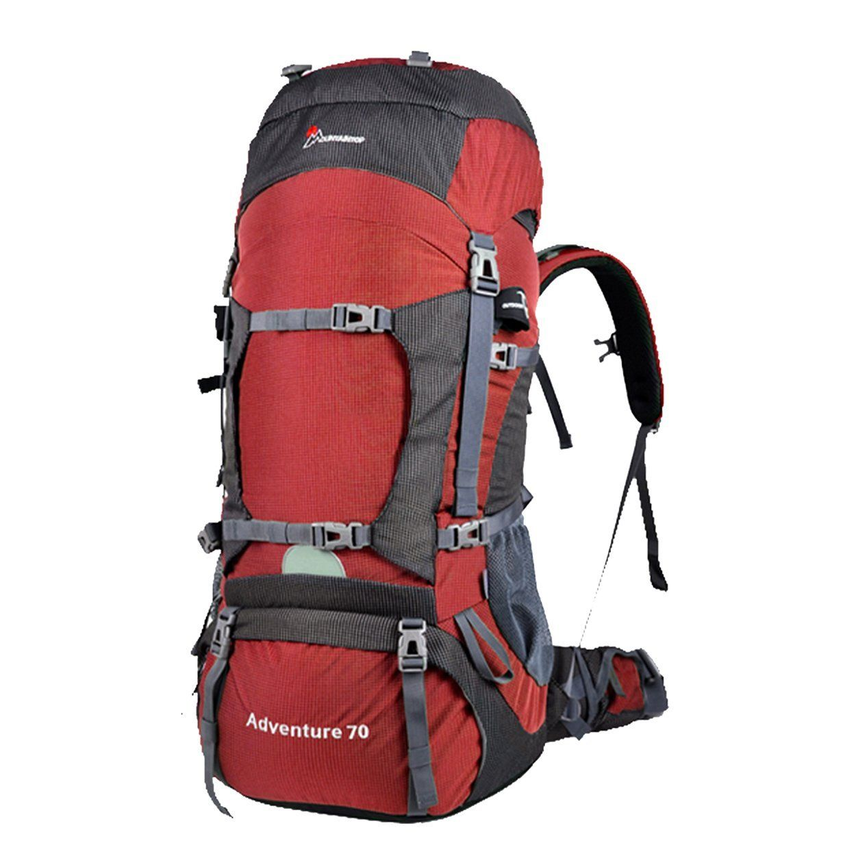 54dd70a8b7 Oxking 70L Outdoor Hiking Trekking Camping Backpack Waterproof  Mountaineering Bag Large Travel Climbing Rucksack with Rain