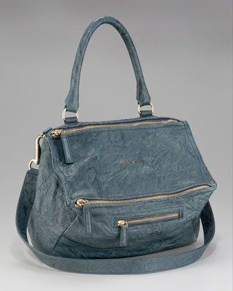 281fcd4ec4c Givenchy Pandora Medium Shoulder Bag, Peacock Blue   Bags ...