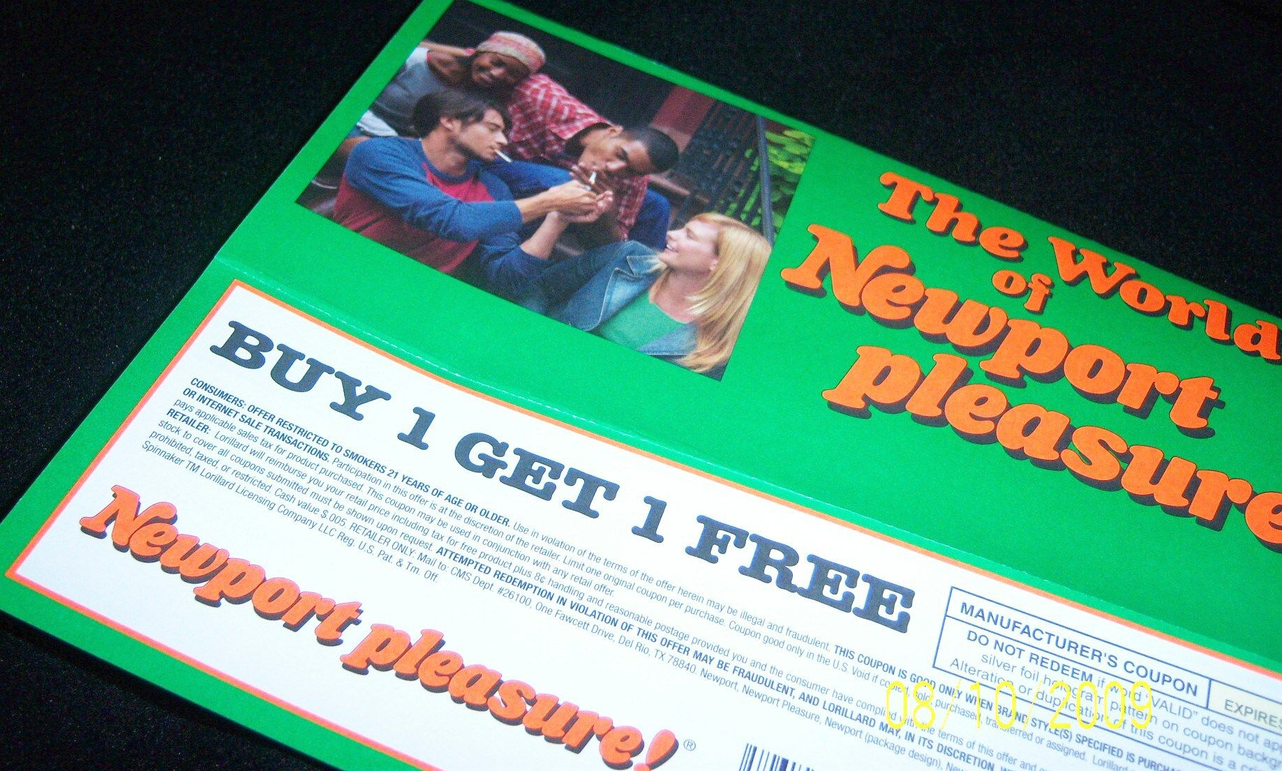 Pin newport cigarettes strategy direct advertising