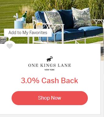 One Kings Lane Coupons Promo Codes Cash Back En 2020