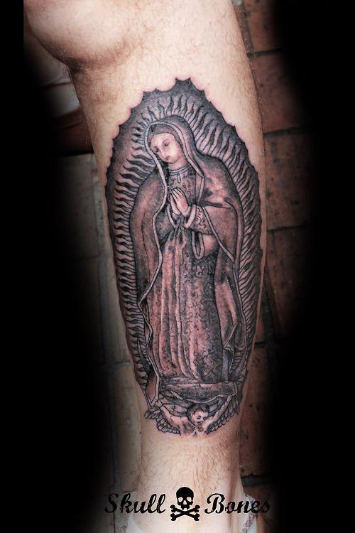 Guadalupe Tattoo #guadalupe #guadalupetattoo #religioustattoo #skullnbones #skullnbonestattoo