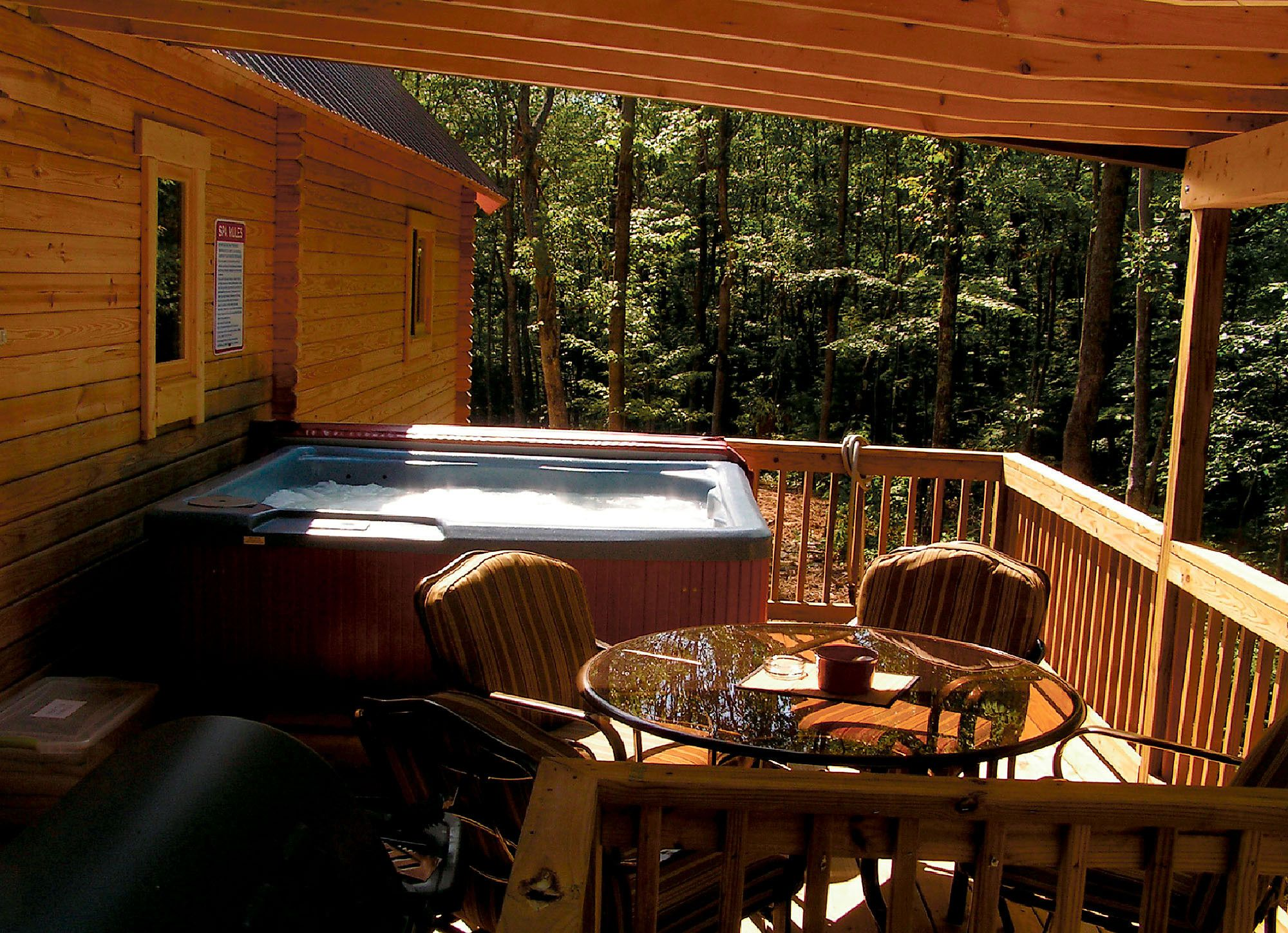 Hemlock Haven\'s five cabins are dog-friendly and feature secluded ...