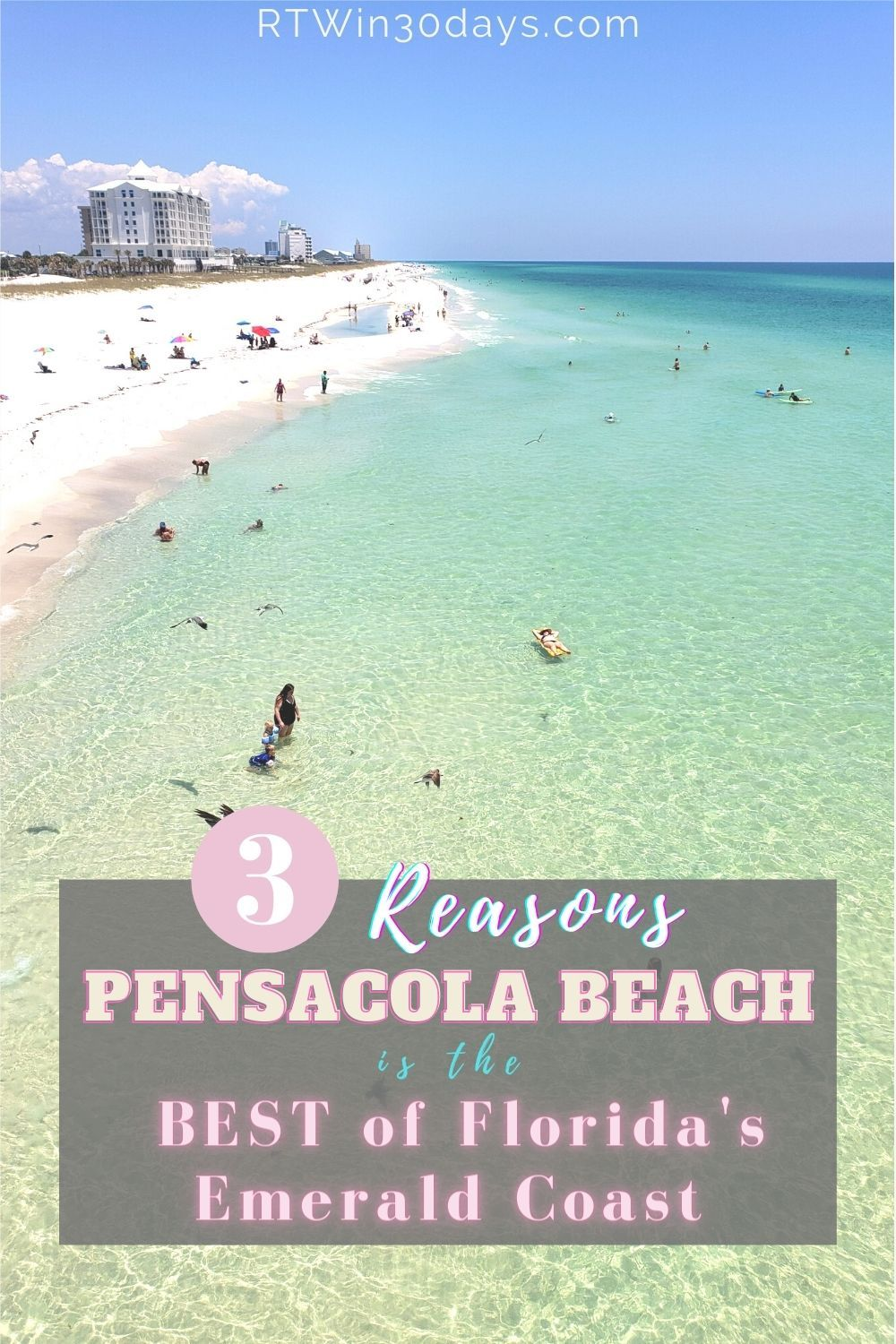 3 Reasons Pensacola Beach Is The Best Of Florida S Emerald Coast Pensacola Beach Beach Best Solo Travel Destinations