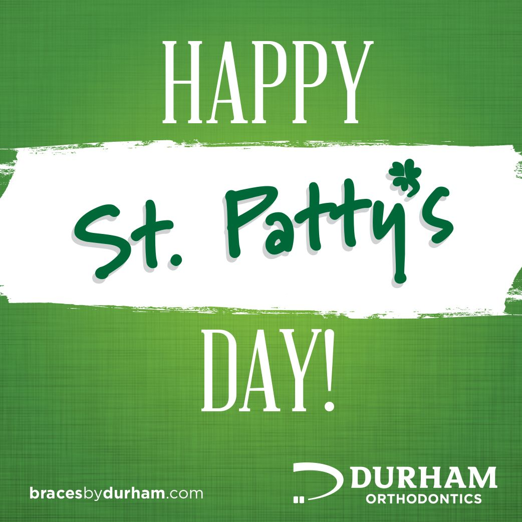 Happy St. Patrick's Day! Smile and share if you are wearing GREEN today! #StPatricksDay #StPaddysDay #green