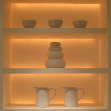 14+ Floating shelves with lights underneath inspirations