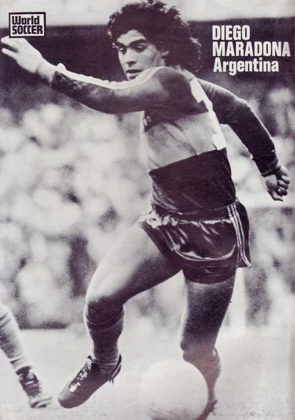 Boca Juniors - 1981 - Maradona | Diego maradona, Boca ...