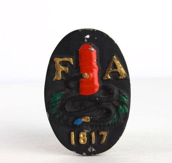 fire insurance plaques 401,402,403,404 - Google Search | Vintage ...