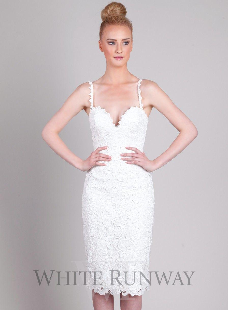 Stunning Lace Dress By Australian Designer Love Honor A Flattering Midi With Sweetheart Neckline And Corset Bodice Available In Black White