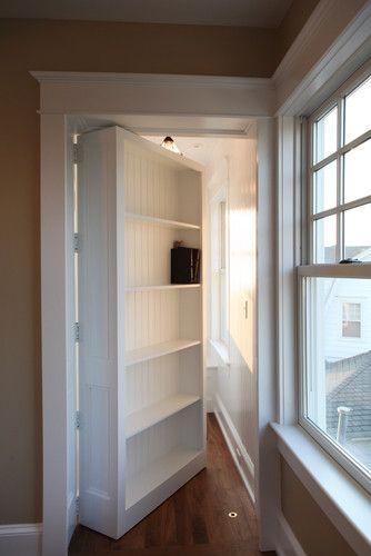 Secret Door Design Pictures Remodel Decor And Ideas Page 22 Hidden Bookshelf Door Bookshelves Built In Bookshelf Door