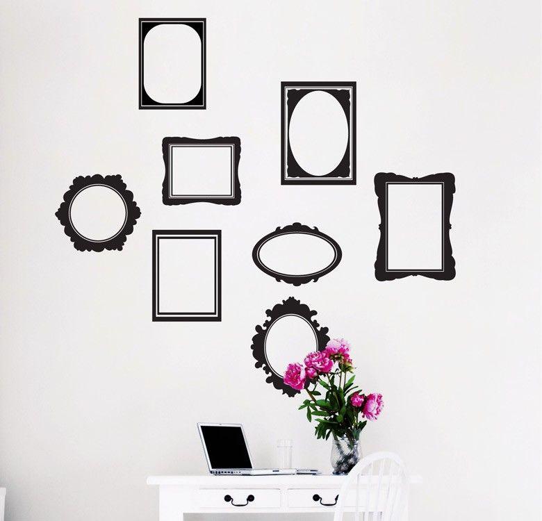 Vinilos decorativos - MyVinilo ® | Vinilo marcos - frames