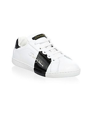 6dfe9e79a Dolce & Gabbana Toddler's & Boy's Bassa Allacciata Low Lace Sneakers ...