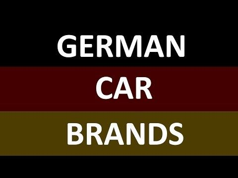 Top German Car Brands Girl Scout World Thinking Day Germany