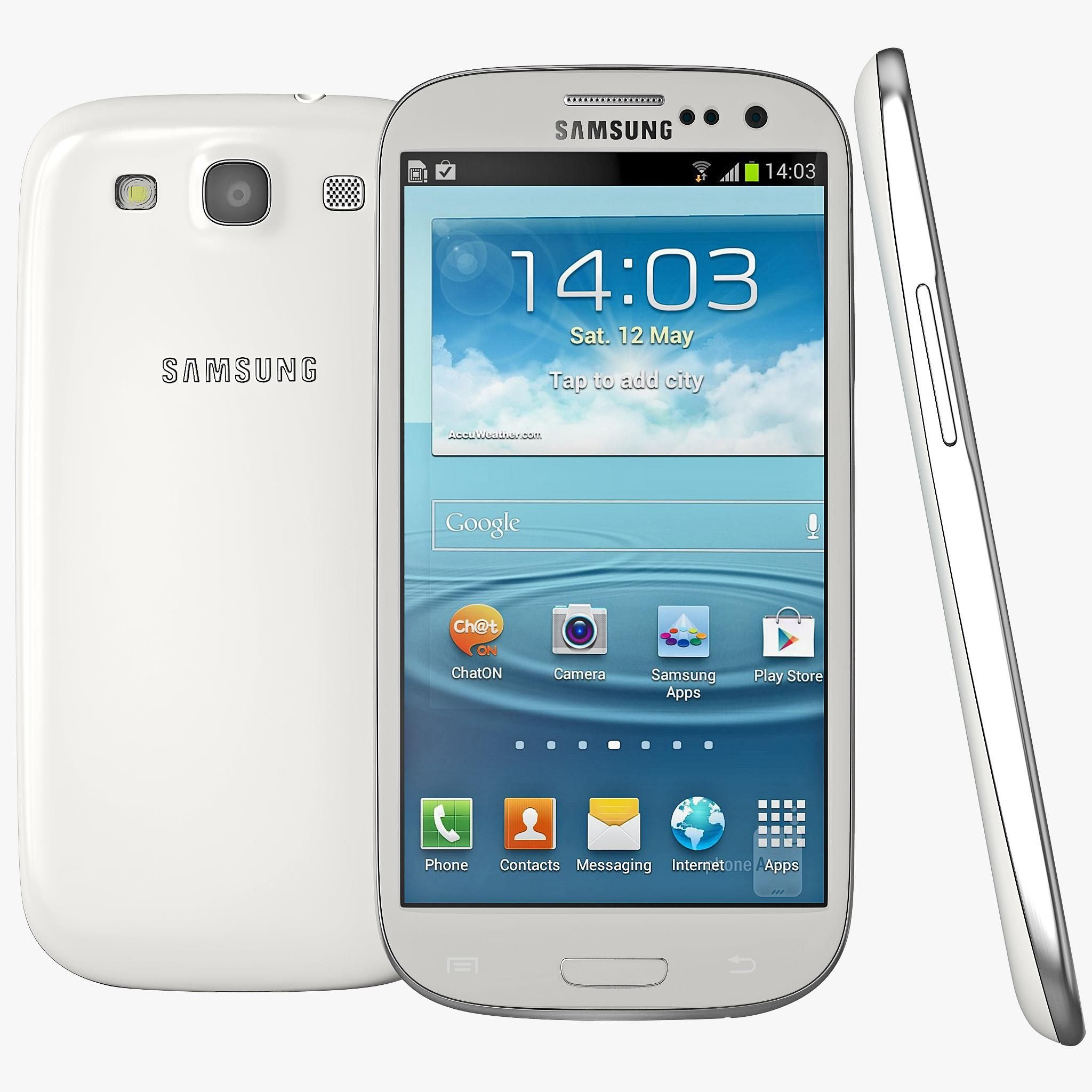 Samsung Galaxy S3 3d Model Ad Galaxy Samsung Model Samsung Galaxy S3 Galaxy S3 Galaxy