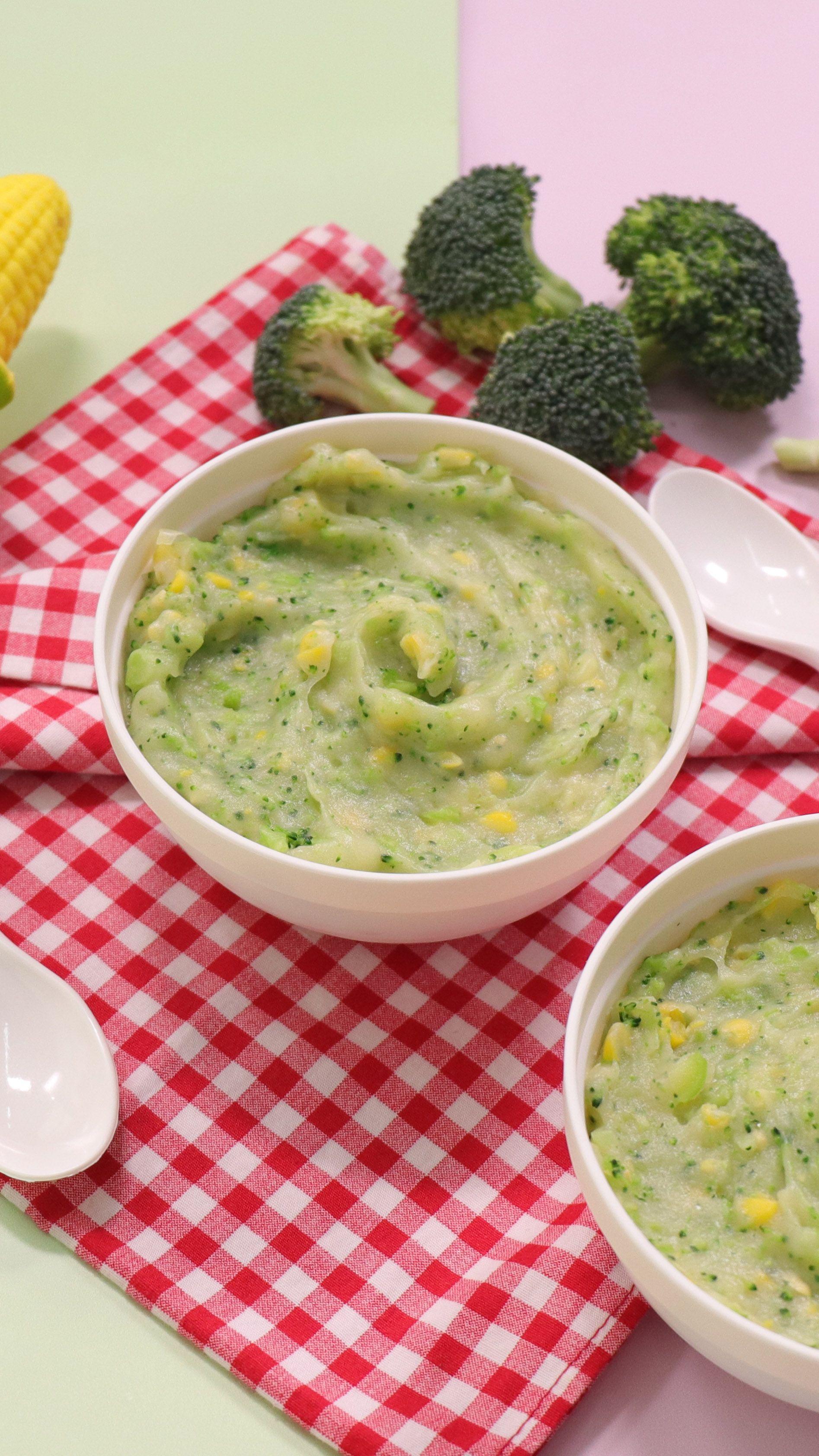 Bubur Brokoli Brokoli Makanan Resep
