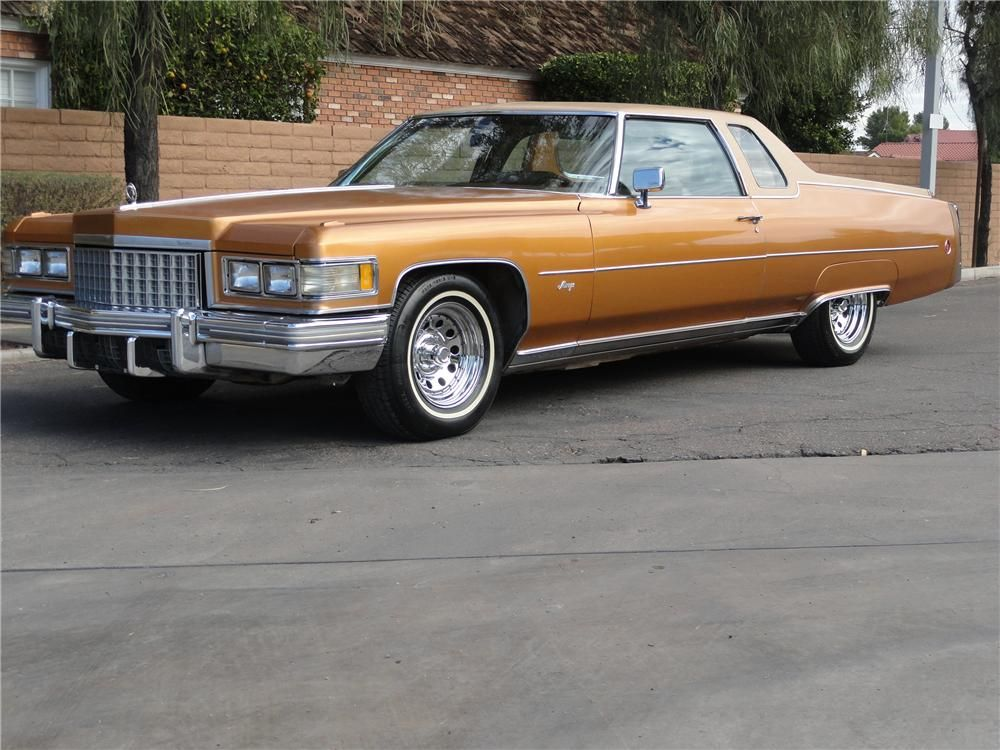 1976 CADILLAC MIRAGE PICKUP - Barrett-Jackson Auction Company ...
