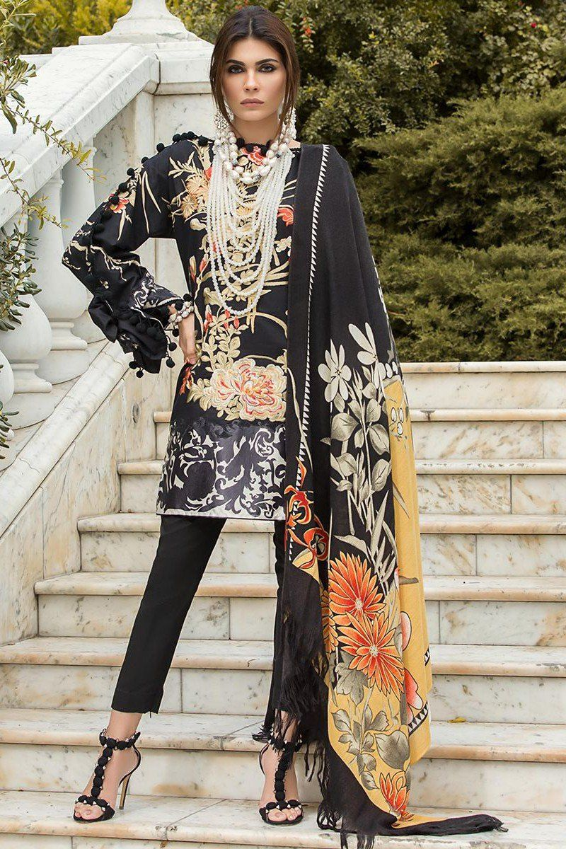 Look - Safinaz sana winter shawl collection with prices video