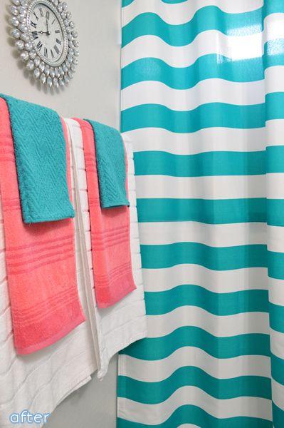 Better After Gives Back Part 3 Better After Coral Bathroom Decor Kids Bathroom Colors Teal Bathroom