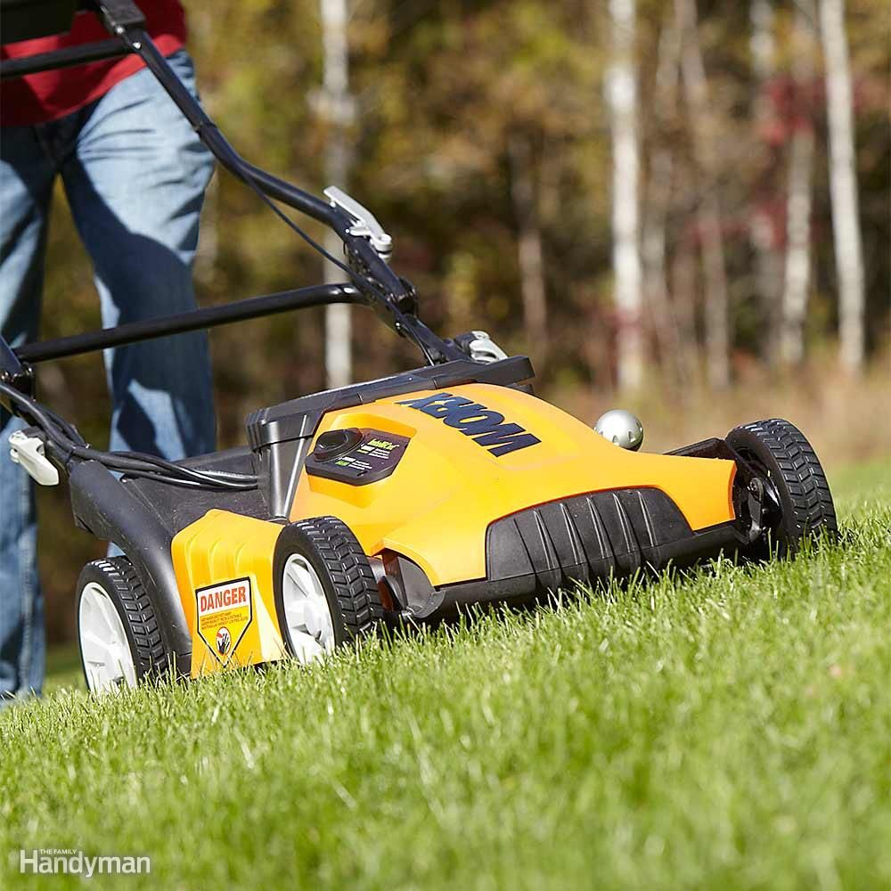"Mowing is a chore that's easy to put off—the grass will still be there in a couple days. But delay is bad for your grass. The taller it gets, the more you'll cut off when you finally mow. And the more you cut off, the more you'll ""shock"" the grass. That weakens each individual plant and leads to other problems later on. It also opens up the turf canopy and allows weeds to bully their way in. Rule of thumb: Never remove more than one-third of the leaf blade each time you mow. And keep your…"