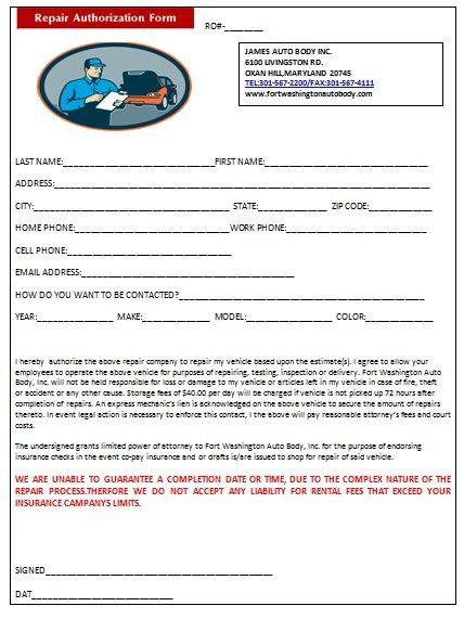 popular auto repair invoice templates demplates parental letter - auto repair invoice template