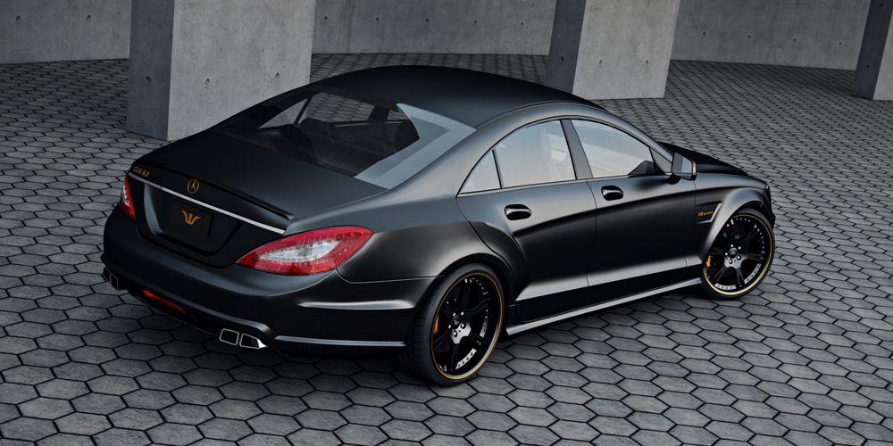 Mercedes Cls63 Amg Felgen Tuning Auspuffanlagen Benz Auto