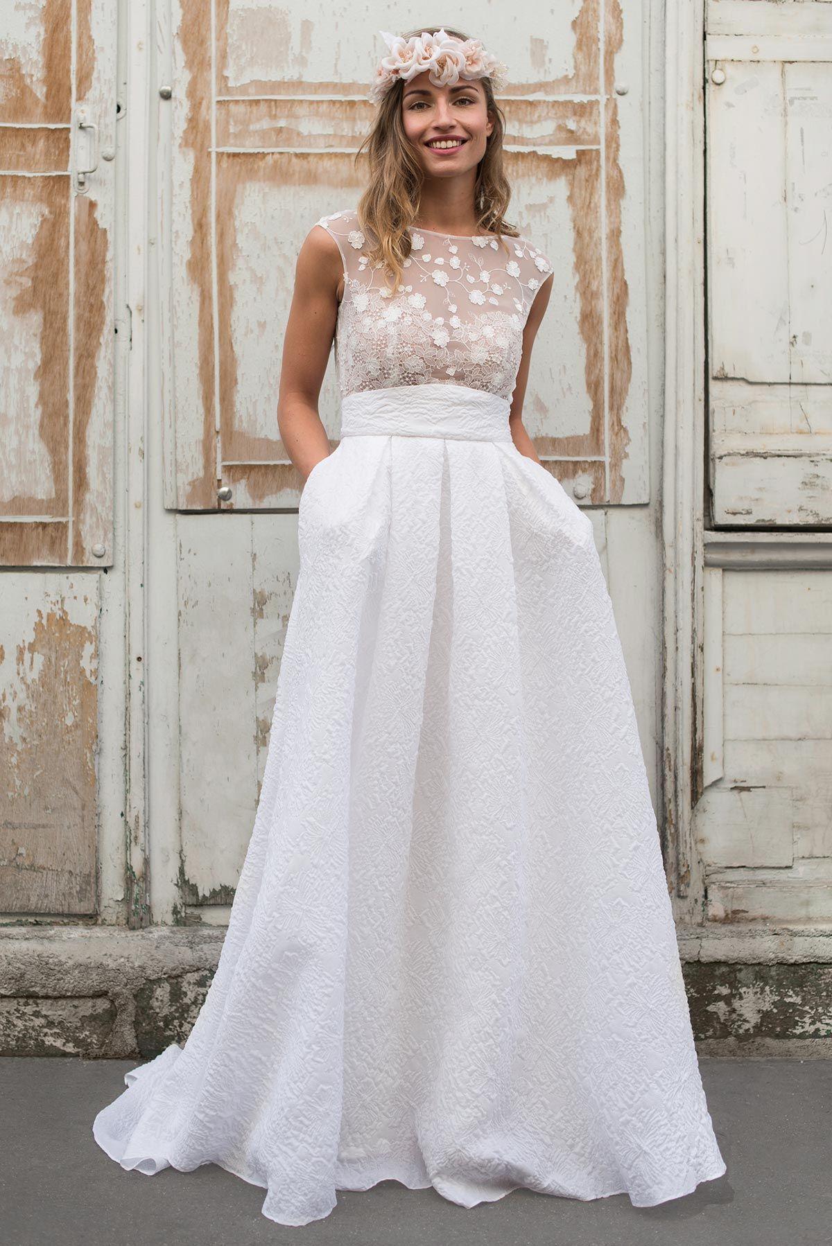 7ee89072875 Marie Laporte - Créatrice – Robes de mariées – Paris