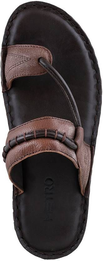 aa3fc2ca63d7 Metro Men Brown Sandals - Buy 12