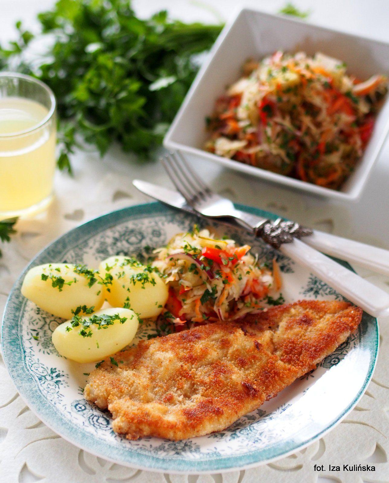 Dorsz Cytrynowy Panierowany Smażony Food Of Poland
