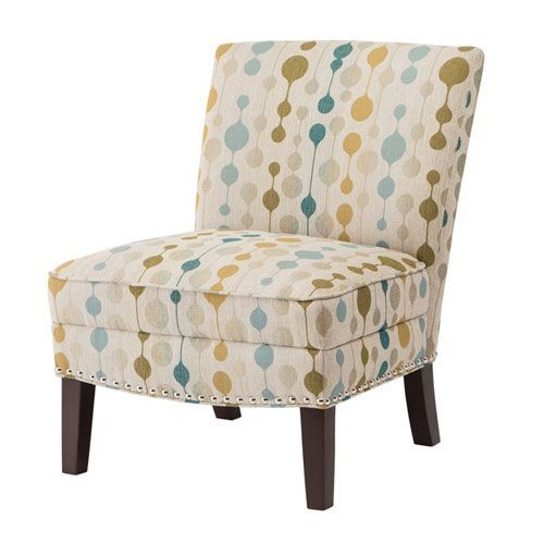 Multicolor Accent Chair From Fixer Upper: Hayden Multicolor Slipper Accent Chair
