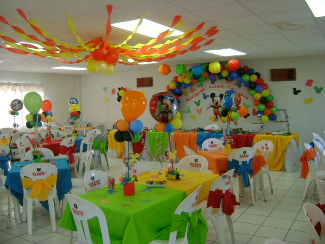 Fiesta de mickey mouse clubhouse fiesta de mickey for Decoracion la casa de mickey mouse