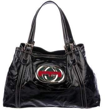 e2c7c6d739d8 Dialux Medium Britt Tote   Products   Gucci designer, Designer bags ...