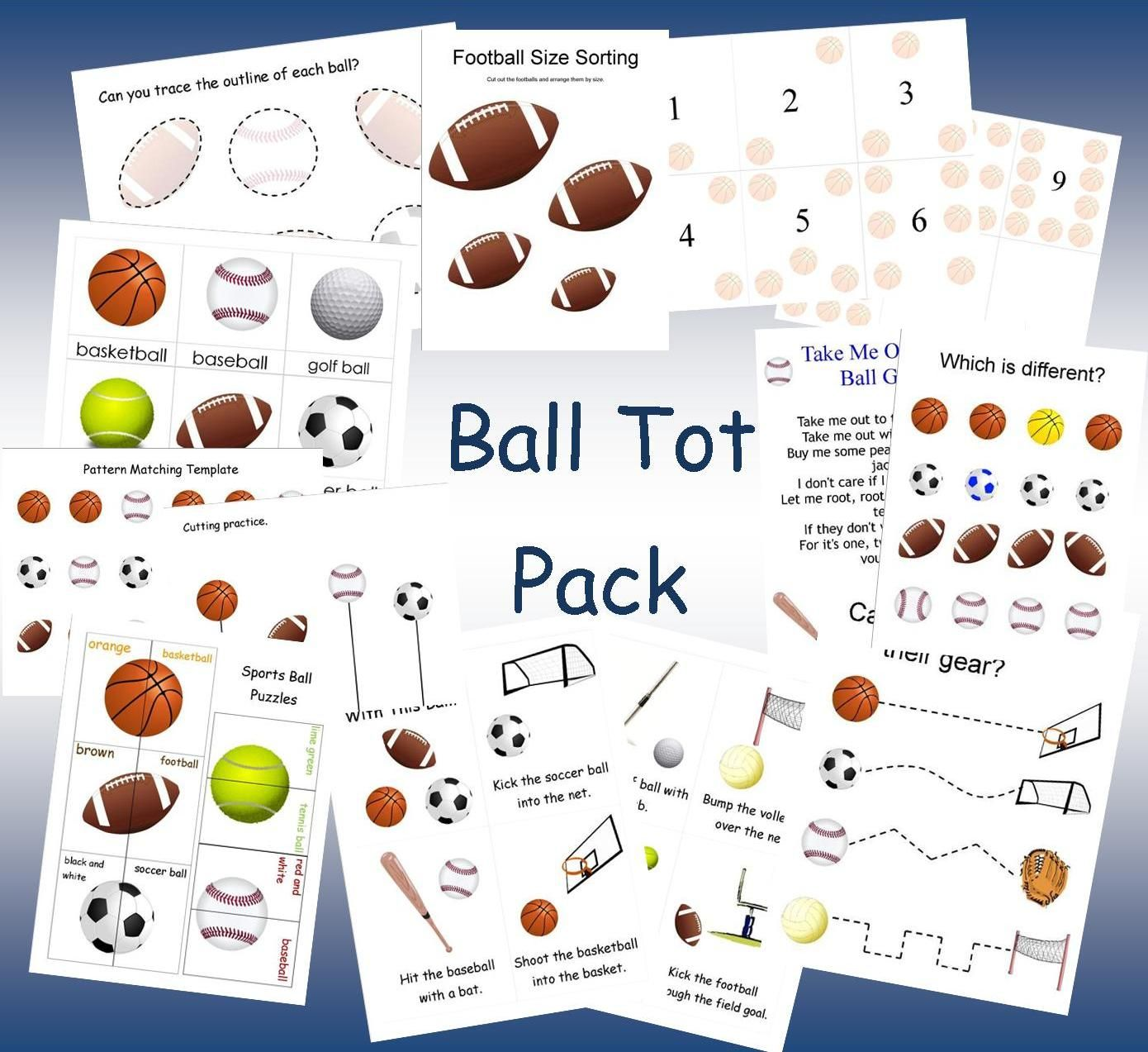Memorizing The Moments Ball Tot Pack