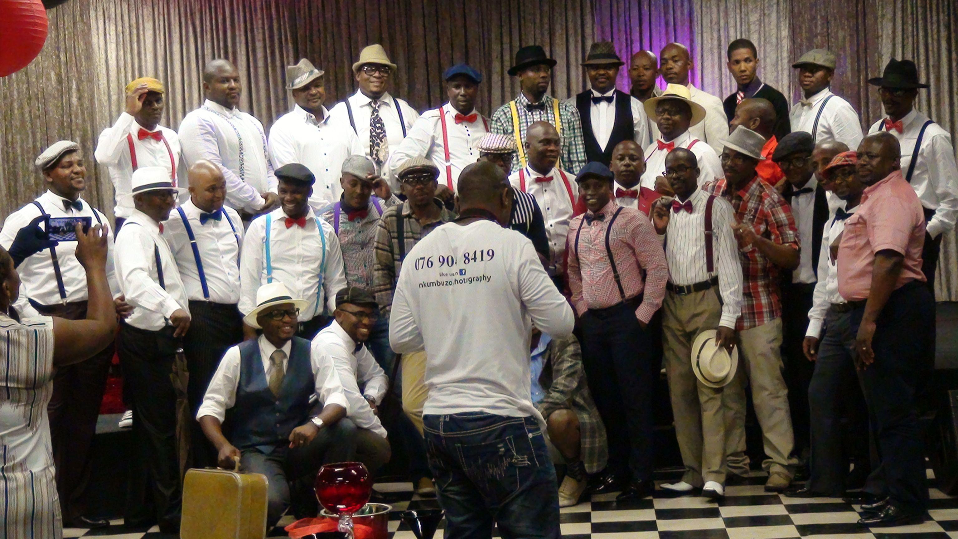Gentlemen at RUCC PE, Sophiatown Theme! | South African ...