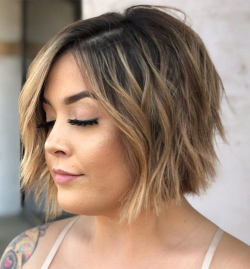 Brilliant Short Bob Hairstyles 2019 For Round Faces Popular