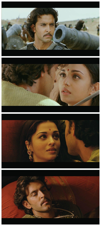 Jodhaa Akbar(2008) An Indian historical romantic drama film co written, produced and directed by Ashutosh Gowariker. It stars Hrithik Roshan, Aishwarya Rai and Sonu Sood in the lead roles.