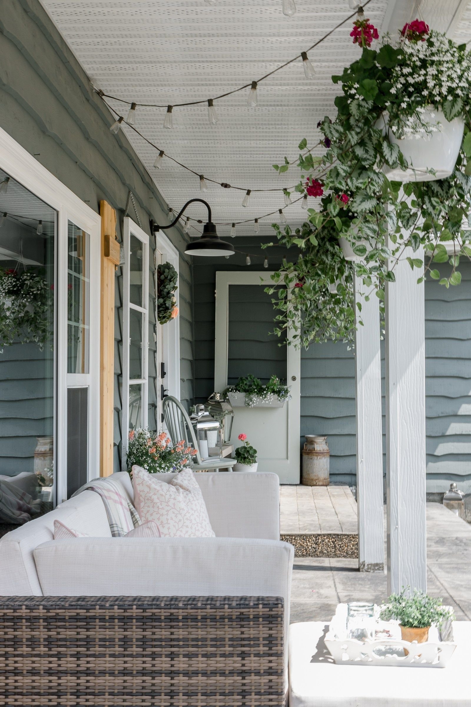 Farmhouse Summer Porch