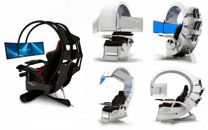 gaming chair cool stuff pinterest men cave walls and room. Black Bedroom Furniture Sets. Home Design Ideas