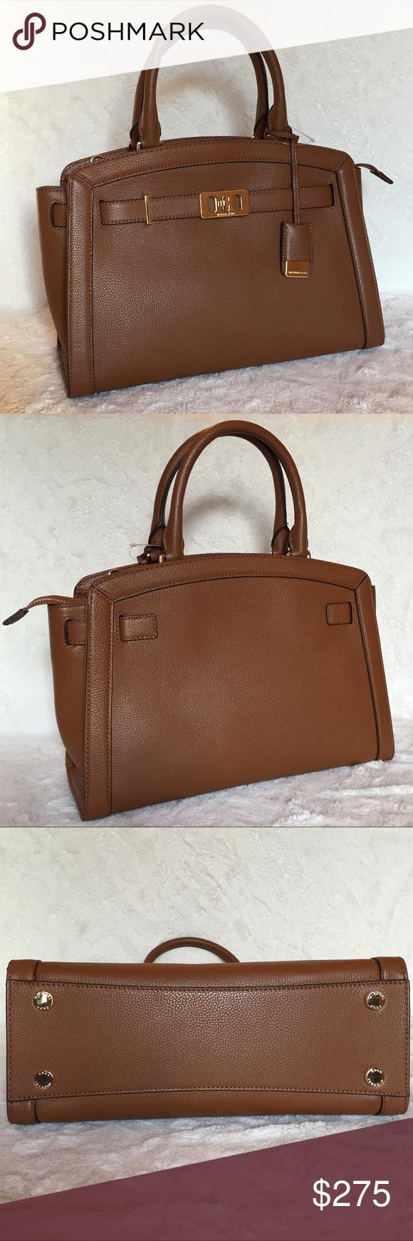 fbae1c032006 Michael Kors Karson Luggage Bag Michael Kors Karson bag in luggage.  Crossbody strap included.