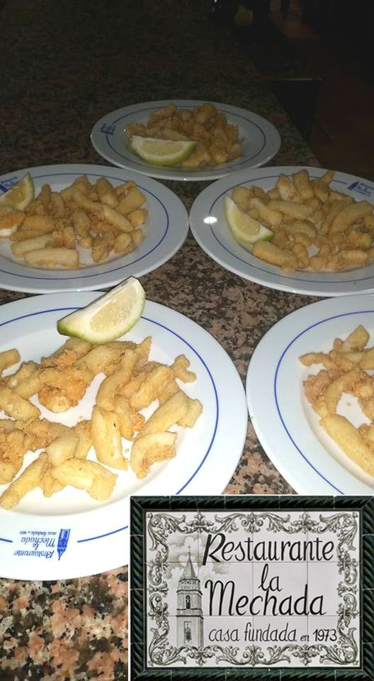 https://www.facebook.com/lamechada/posts/1113546535369463  Gran variedad de pescado frito y a la plancha. Huevas frescas de merluza aliñadas y una súper carta extensa de carnes, revueltos, cóctel de marisco, hamburguesas de retinto de Cádiz y nuestra ensaladilla de gambas con langosta.  RESTAURANTE LA MECHADA facebook.com/lamechada C/ Alcalde Bernardo Zambrana, 1, Umbrete Tfno. 955 715 301  Promocionado por Globalum. Marketing en Redes Sociales facebook.com/globalumspain