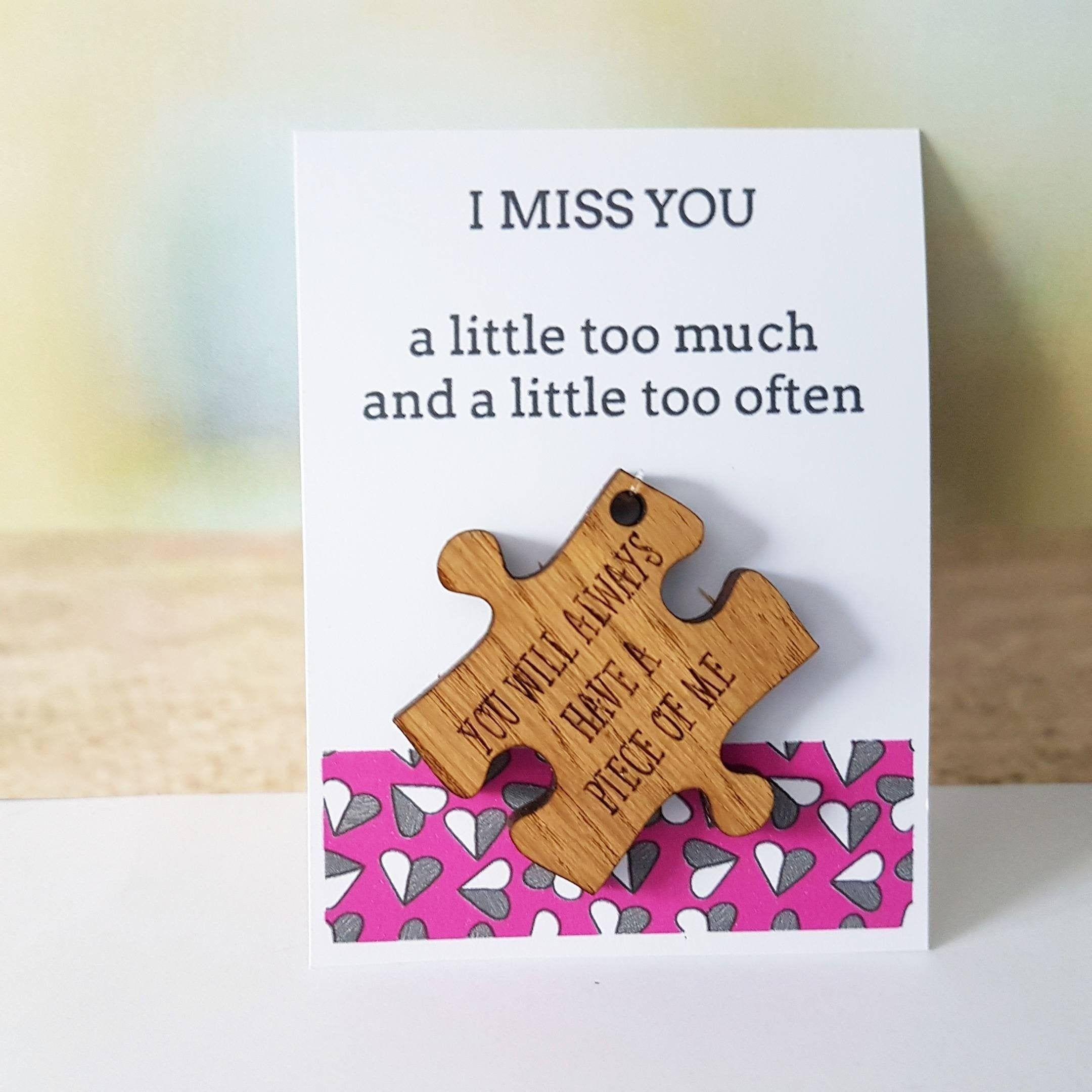Boyfriend gift girlfriend card army travel gift miss