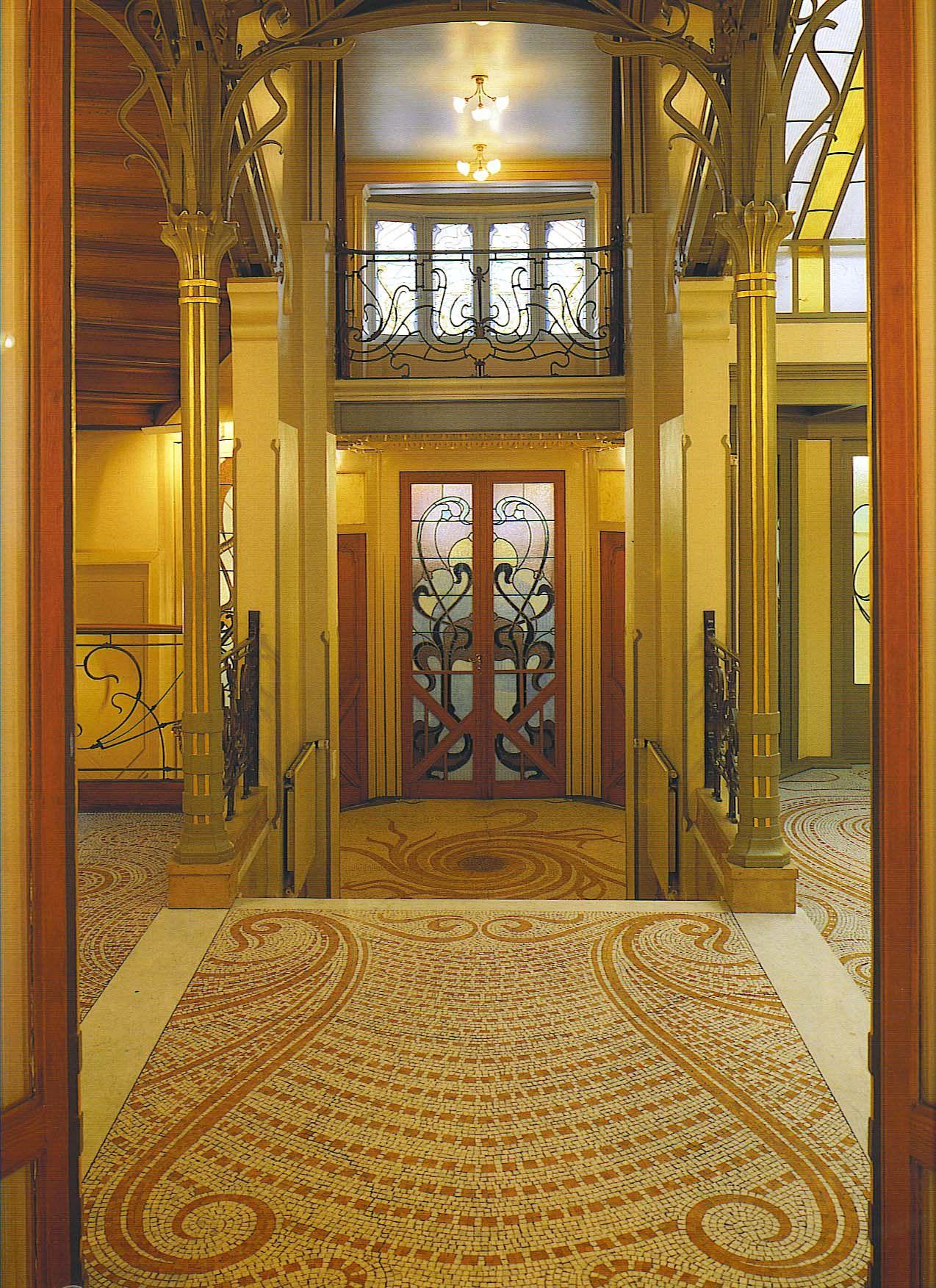 Mekan Victor Horta Innovative Architecturehistoric Architectureart Nouveau Architectureart Nouveau Interiorart