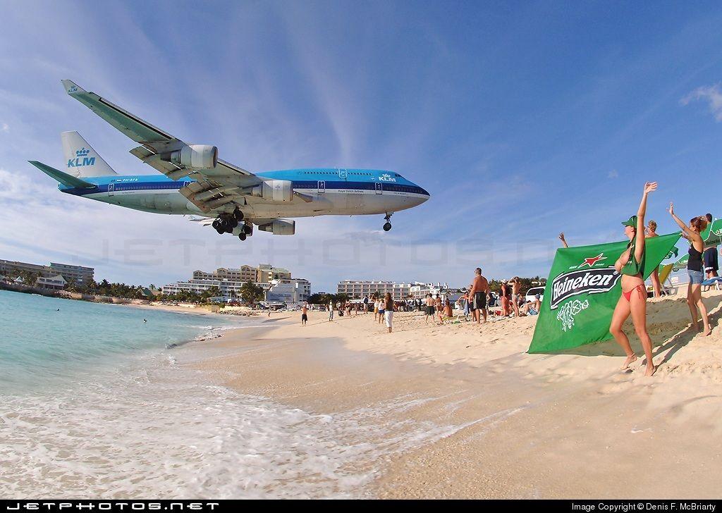 Pin On Maho Beach St Maarten Caribbean