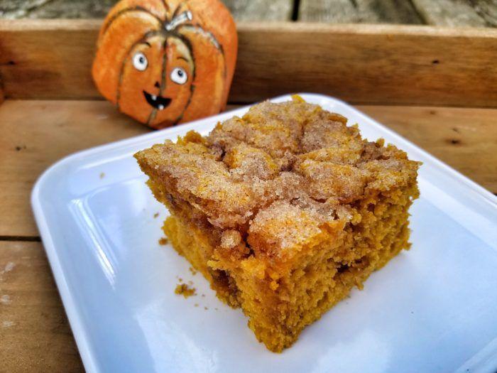 Pumpkin Spice Coffee Cake Recipe | Coffee cake recipes ...