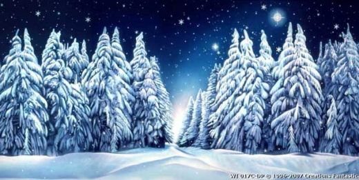 Winter wonderland hintergrund