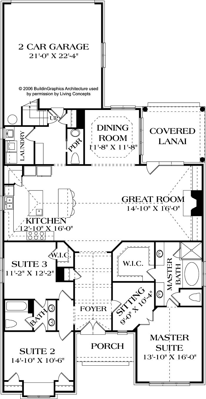 Living concepts house plans muldoon plan no b 2243 2 243 366 bonus upstairs sq ft 1 5 - House plans with bonus rooms upstairs ...