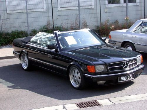 1984 mercedes benz w126 500sec cabrio mobilverzeichnis. Black Bedroom Furniture Sets. Home Design Ideas