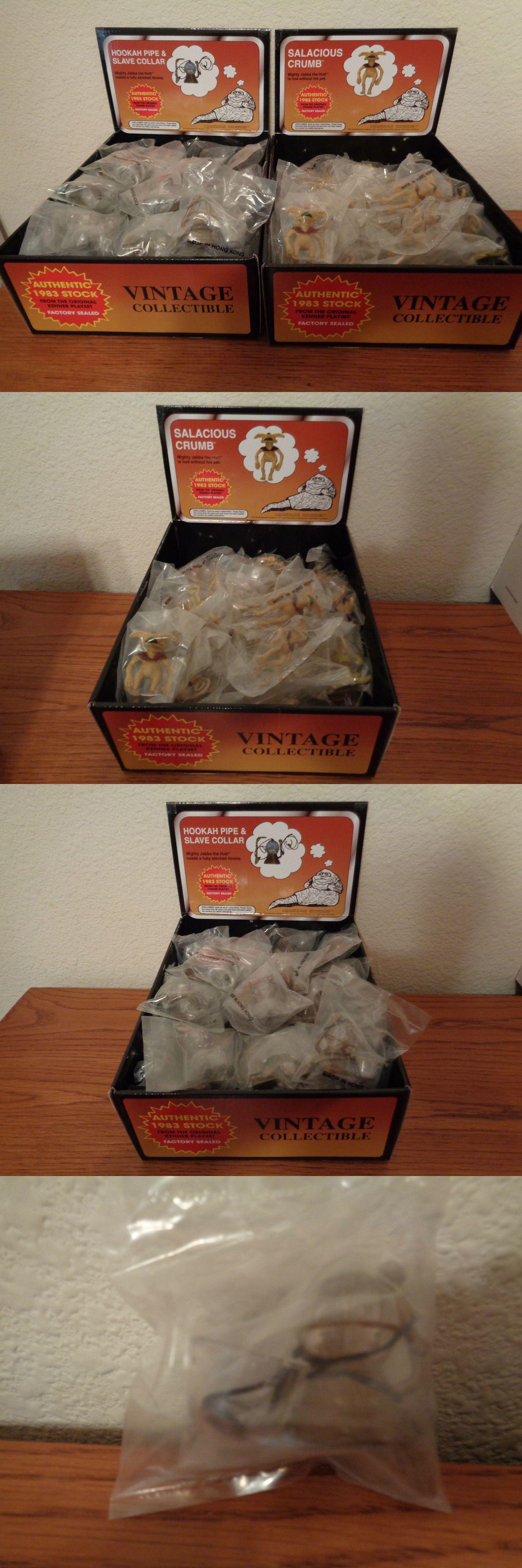 "Original Vintage 1983 Star Wars Jabba the Hutt 3.75/"" accessories Salacious Crumb"