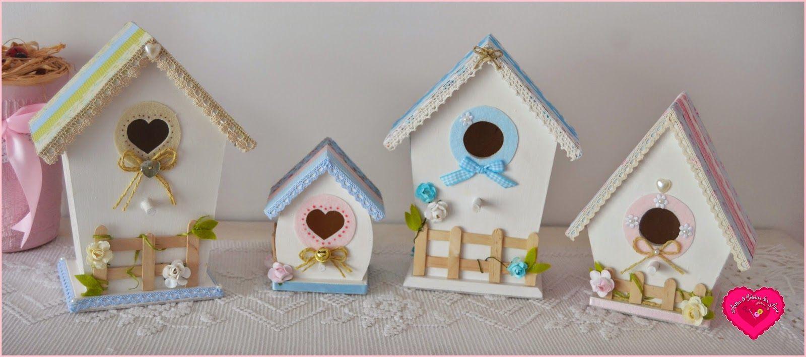 Spring Time !  Bird Houses ♥